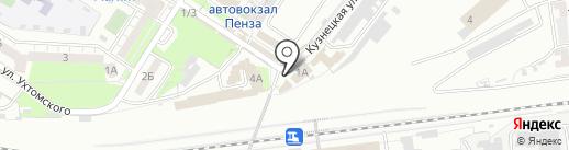 Продукты Казахстана на карте Пензы