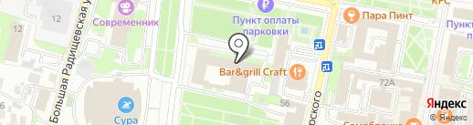 Администрация г. Пензы на карте Пензы