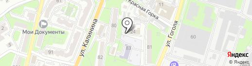 Многопрофильное управляющее предприятие Первомайского района на карте Пензы