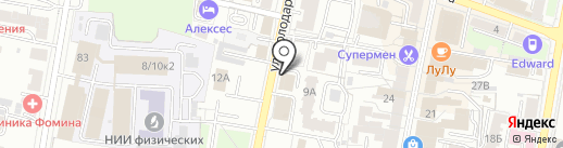 West Side Service на карте Пензы
