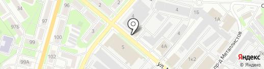 Бристоль на карте Пензы