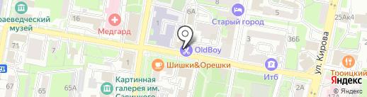 Урал-Пресс Саратов на карте Пензы