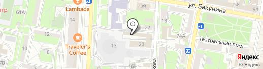 Баланс Плюс, АНО ДПО на карте Пензы