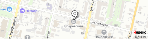 Адрес на карте Пензы