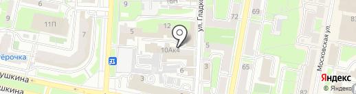 Салон массажа Ирины Антоновой на карте Пензы