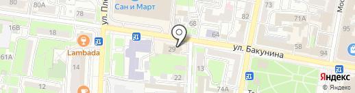 Гарант-Кредит, СКПК на карте Пензы