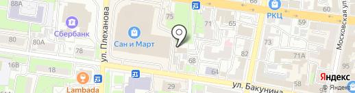 Castle на карте Пензы
