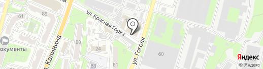 Тайга на карте Пензы