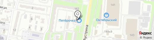 Пятерочка на карте Пензы