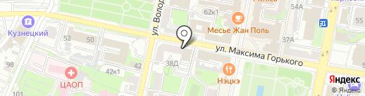 Anex tour на карте Пензы