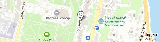 Harat`s pub на карте Пензы