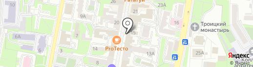Vertical dance & lounge на карте Пензы