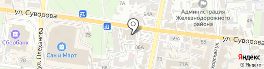 Престиж на карте Пензы