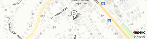 Прокуратура Пензенского района Пензенской области на карте Пензы