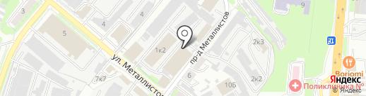 Главдоставка на карте Пензы