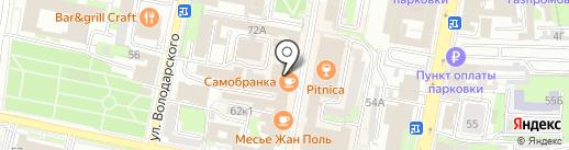 Сервисный центр по ремонту и заточке парикмахерских инструментов на карте Пензы