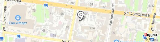 ОрионТехно на карте Пензы