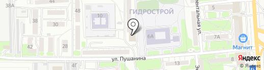 Рукодельница на карте Пензы