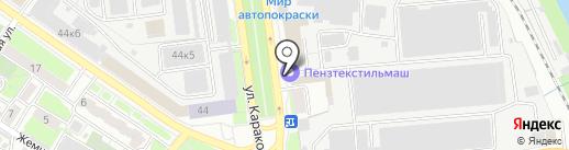 PikKe на карте Пензы