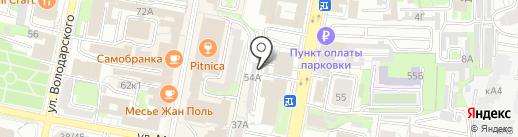 Тонировка Центр на карте Пензы