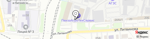 СанТехЛюкс на карте Пензы