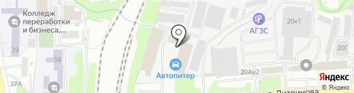 Автопитер на карте Пензы