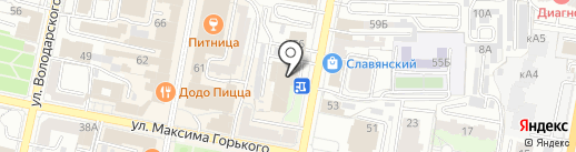 Банкомат, АКБ Связь-банк, ПАО на карте Пензы