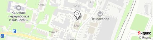 Пайпмаркет на карте Пензы