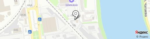 МегаПринт на карте Пензы