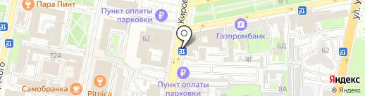 Банкомат, Совкомбанк, ПАО на карте Пензы
