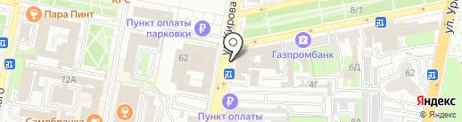 Совет по делам ветеранов при Губернаторе Пензенской области на карте Пензы
