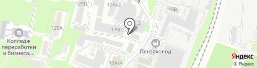 Оптовая компания на карте Пензы