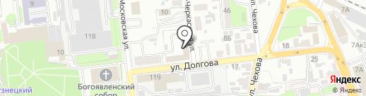 Управление МВД России по г. Пензе на карте Пензы