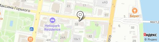 Банкомат, Глобэксбанк на карте Пензы