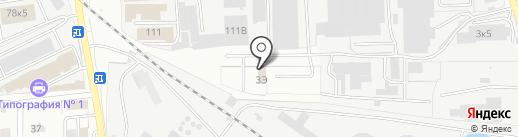 ВегасМотоКарс на карте Пензы
