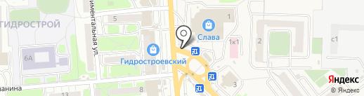 Точка на карте Засечного