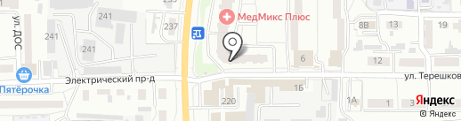 Любимец на карте Пензы