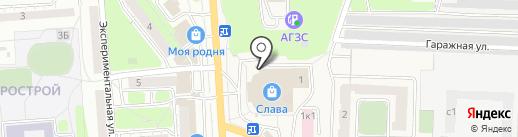 Сеть магазинов автозапчастей на карте Засечного