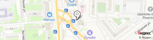 CARbon на карте Засечного