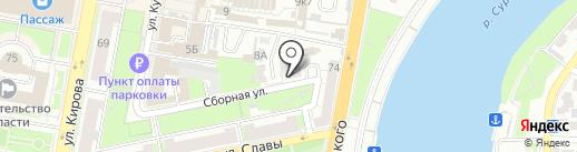 Адвокат Сальников С.В. на карте Пензы