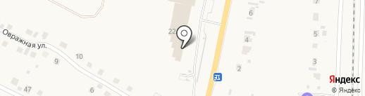 Привал на карте Бессоновки