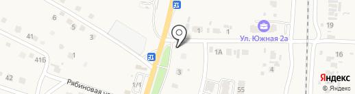 Мамина рябинка на карте Бессоновки