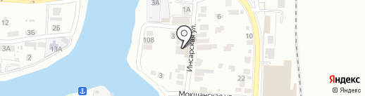 АвтоМустанг 58 на карте Пензы
