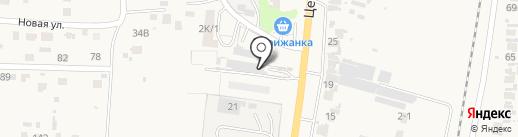 Бессоновский на карте Бессоновки