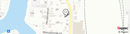 АСстрой 58 на карте Пензы