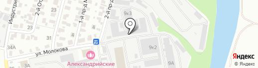 ЭкоВата на карте Пензы
