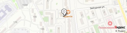 Adress на карте Засечного