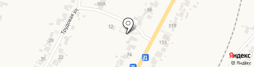 Березка на карте Бессоновки