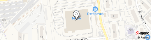 Банкомат, АКБ Росбанк на карте Засечного