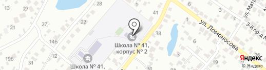 Спартак на карте Пензы